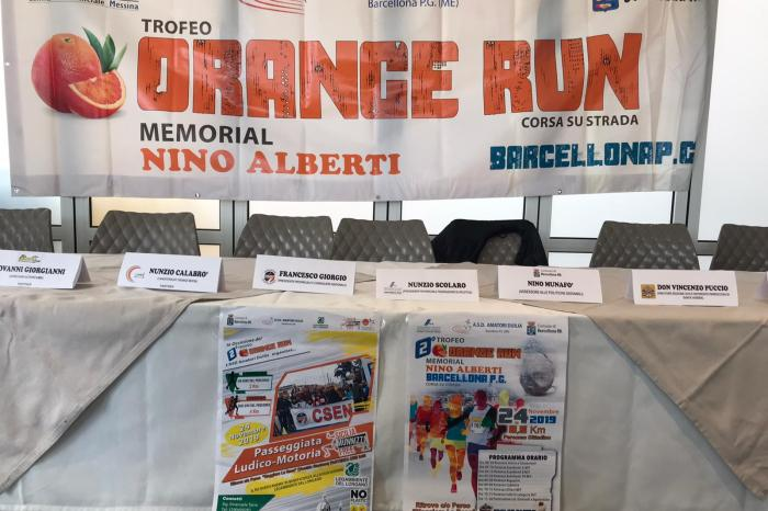 "Il 24 novembre a Barcellona il ""2° Orange Run"""