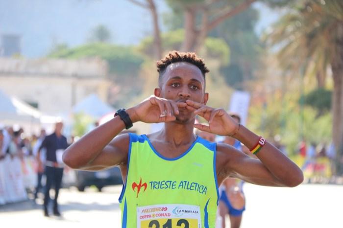 """Nekagenet Crippa ospite a Monreale del """"Running Sicily Fest"""""""