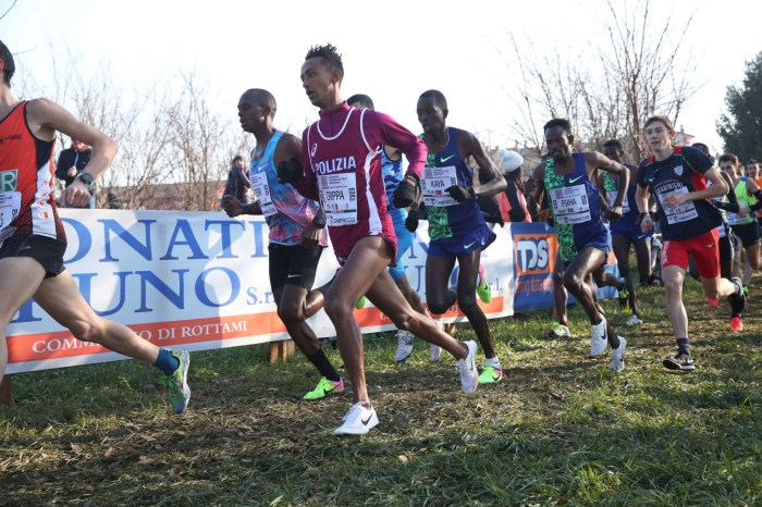 Il 63° Campaccio parla etiope, bene Crippa e Battocletti