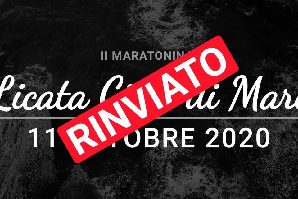 """Rinviata anche la """"2^ Maratonina Licata Città di Mare"""""""
