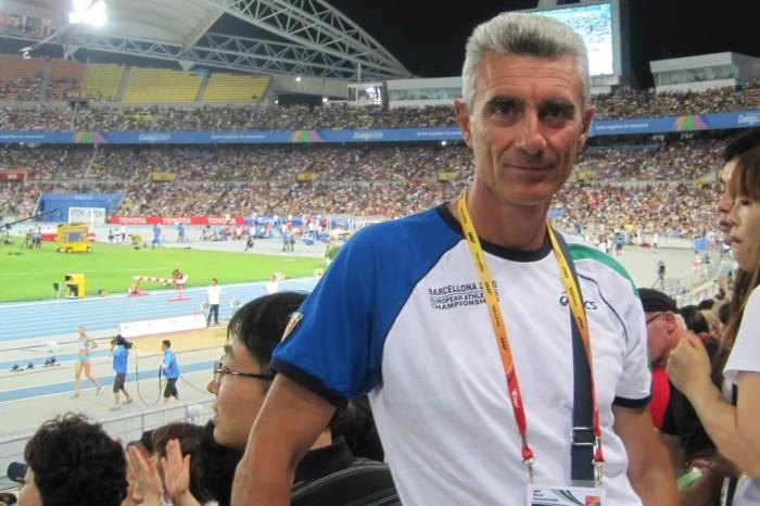 Filippo Di Mulo allenatore benemerito della Fidal
