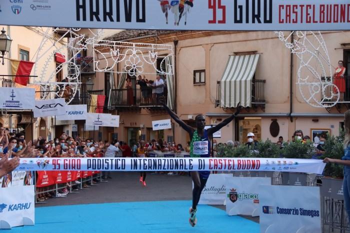 """Il keniano Mark Lomuket vince il """"Giro di Castelbuono"""""""