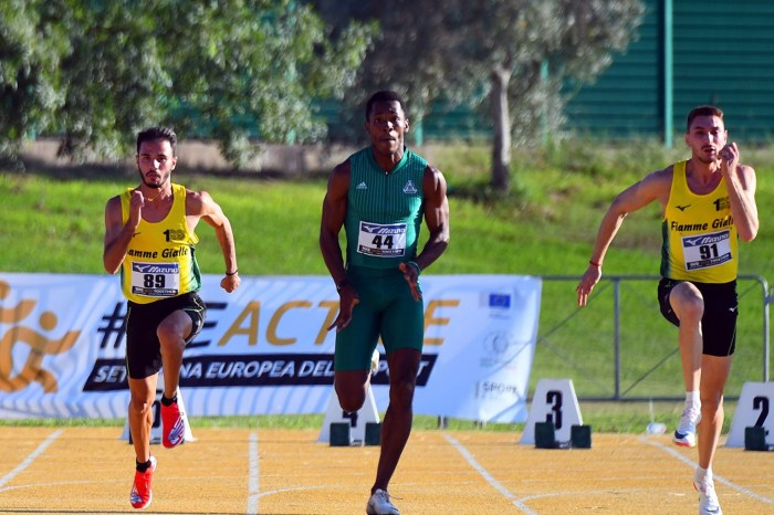 """Super Filippo Randazzo nei 100 metri: 10""""23"""