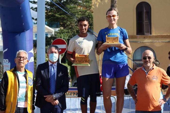 Sigilli di Idrissi e Sukharyna alla XVII Mezza Maratona della Concordia