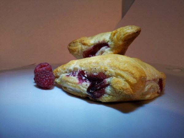 Easy Chocolate Raspberry Turnover