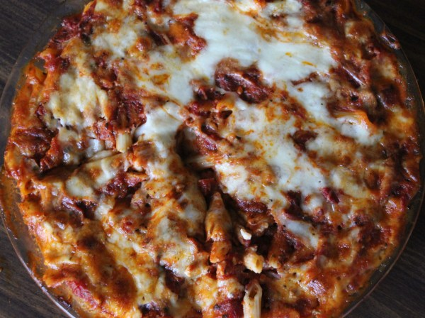 Messin' with Perfection Baked Ziti