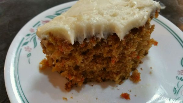 Messin' with Perfection Orange Carrot Cake