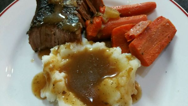Messin' with Perfection Slow Cooker Pot Roast