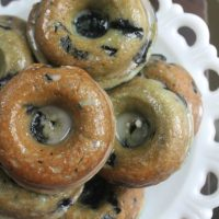 Old Fashioned Blueberry Doughnuts
