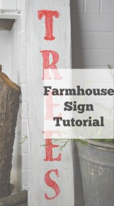 Farmhouse Sign Tutorial