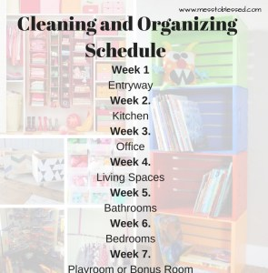 From Mess to Blessed: A Cleaning and Organizing Series