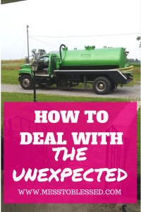 How To Deal With The Unexpected