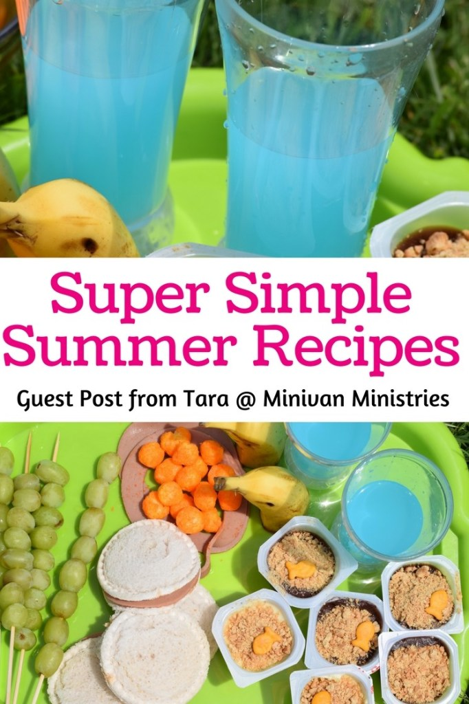 These super simple summer recipes are sure to be a hit with your kids and so easy to make!