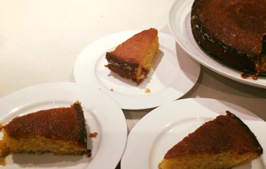 lemon polenta cake by Nigella Lawson