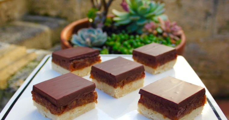 Caramel Slice by Fit Mitten Kitchen