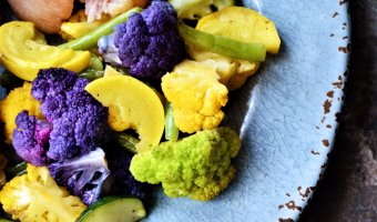 Spring Color Roasted Vegetable Medley