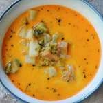Ham and Potato Broccoli Cheddar Soup: Quick and Simple Loaded Soup the Whole Family Will Love