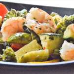 Coconut Curry Shrimp Stir Fry Bake