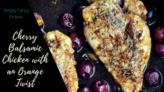 Cherry Balsamic Chicken Title