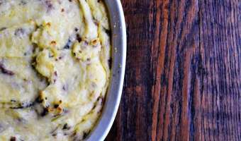 Onion and Chive Whipped Potatoes feature