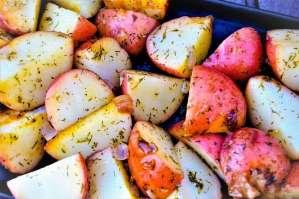 Campfire Dill Potatoes Small