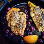 Cherry Balsamic Chicken with an Orange Twist