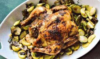 California Citrus Whole Roasted Chicken Feature