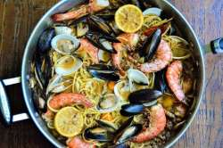 Sausage and Shellfish Pasta recipe