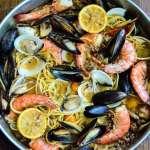 Sausage and Shellfish Pasta recipe