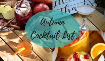 Autumn Cocktail Title