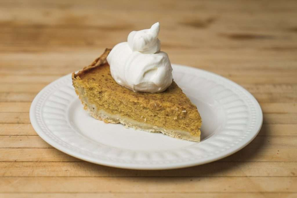 Fresh Pumpkin Pie by Little Prairie Kitchen