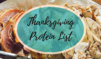 Thanksgiving Proteins