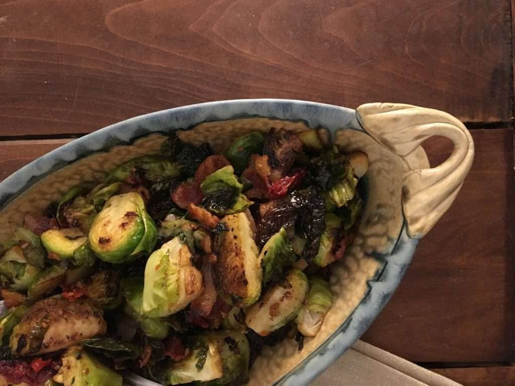 Chimichurri Brussel Sprouts by Emily Ruth Weir