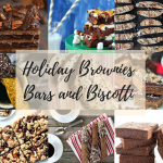 Holiday Brownies Bars and Biscotti