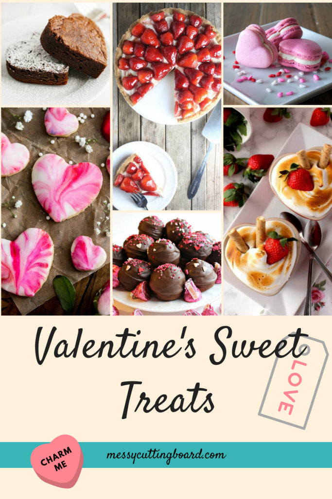 Valentine's Day Sweet Treats Title