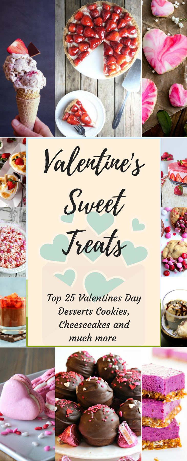 Valentine's Day Sweet Treats Pin