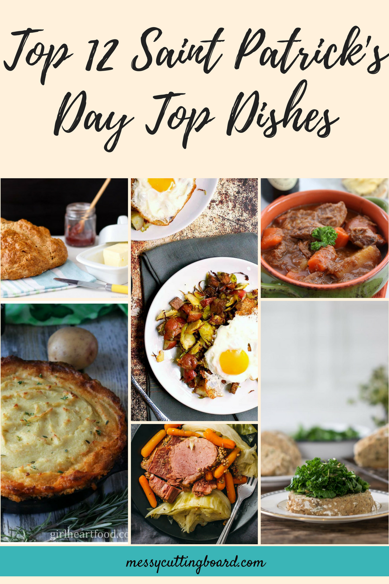 Saint Patrick's Day Dishes Title