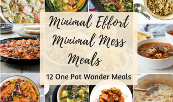one pot wonder meals feature