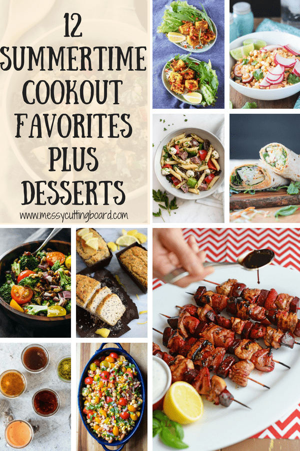 Pinnable image for Summer Cookout