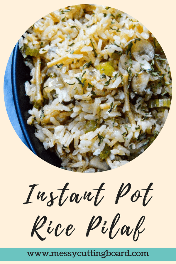 Instant Pot Rice Pilaf title