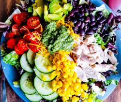 Southwest Chicken Salad Feature