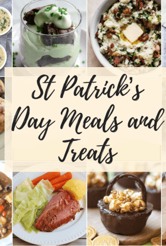 St Patrick's Day Meals and Treats
