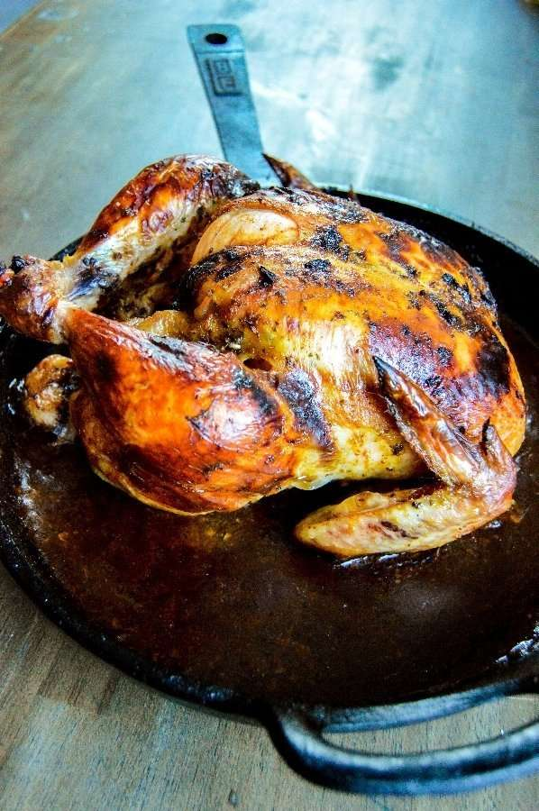 Chili Butter Roasted Chicken Complete Side