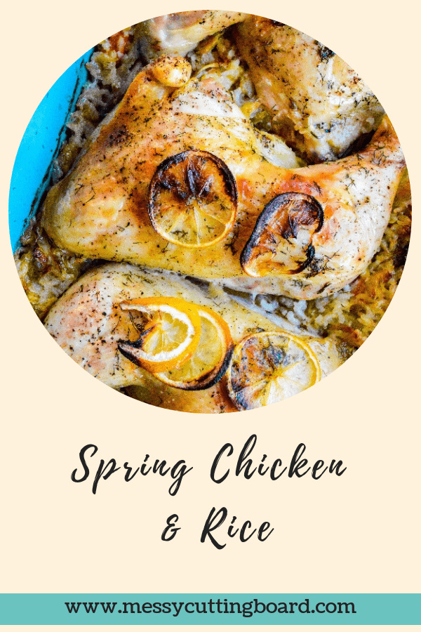 Spring Chicken and Rice Post Title