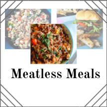 Meatless dishes