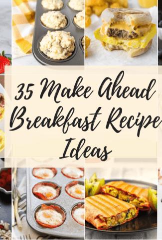 35 make ahead breakfast recipes featured image