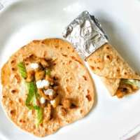 Easy Chicken Wrap - Quick Lunch / Dinner Idea
