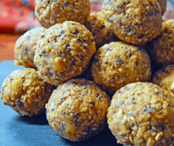 Feature Image Apple Turmeric Spice Energy Balls