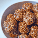 Feature image for Chocolate Raspberry Hazelnut Energy Ball Treats