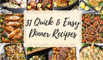 Feature image Quick Easy Dinner Ideas
